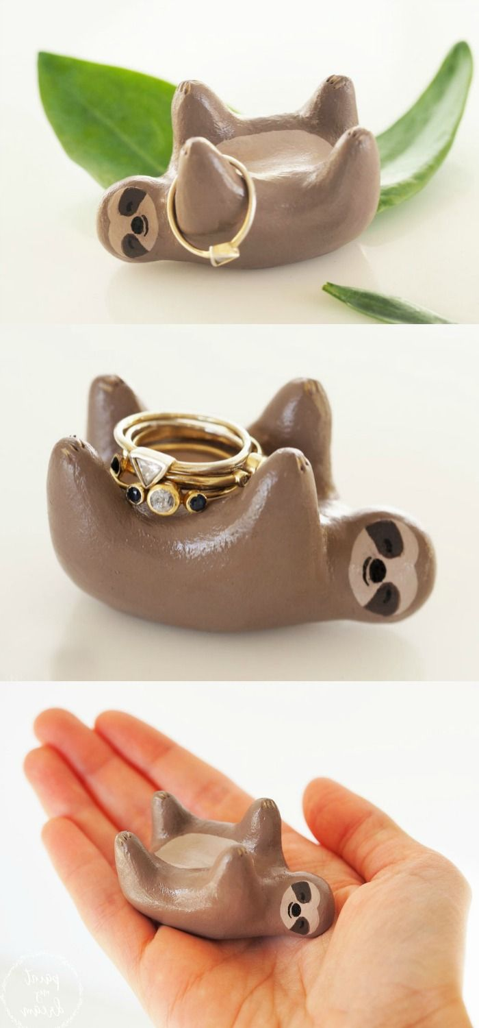 Ring holders for while you're washing your hands.