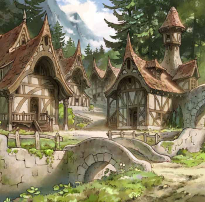Cleret S Hometown Was A Small Human Village Located Somewhere In