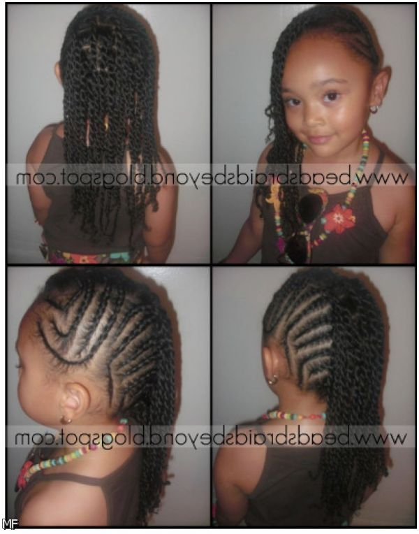 Awe Inspiring Hairstyles For Black Kids French Braid Styles And French Braids Hairstyles For Women Draintrainus