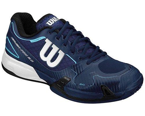 0f6d3e7b4b234 WILSON Men s Rush Pro 2.0 Tennis Shoes