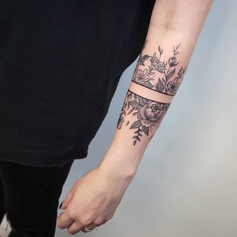 Souvent Tatouage avant bras, demi-manchette et bras complet- faire un  VO33