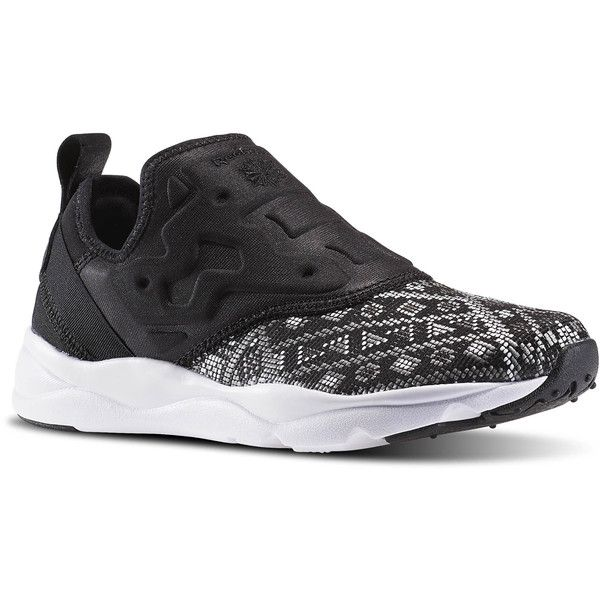 Reebok Furylite Slip On GT ( 60) ❤ liked on Polyvore featuring shoes bd0453fc2