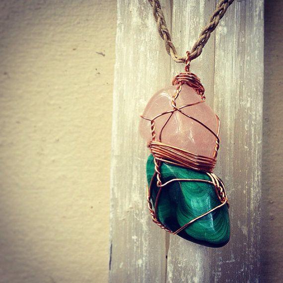 Malachite Crystal Necklace