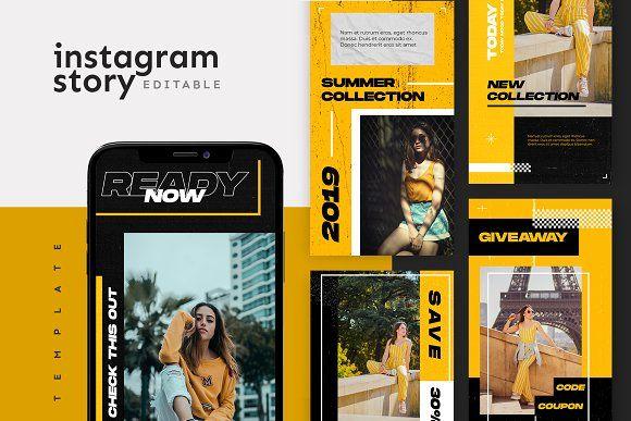 Photo of Instagram Story Template de ovozgraphics en Creative Market Need Social M …
