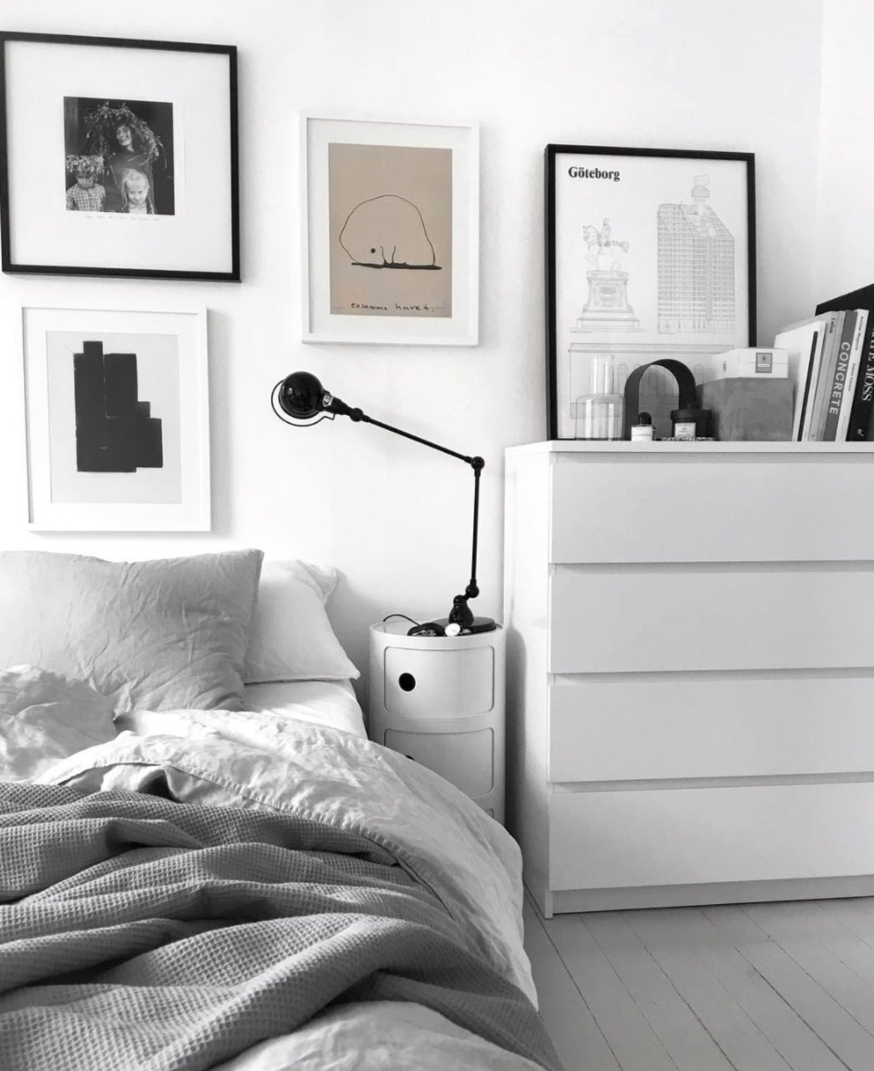Pin By Gush Art Studio On Future Home Ikea Bedroom Design Home Decor Bedroom Scandinavian Design Bedroom
