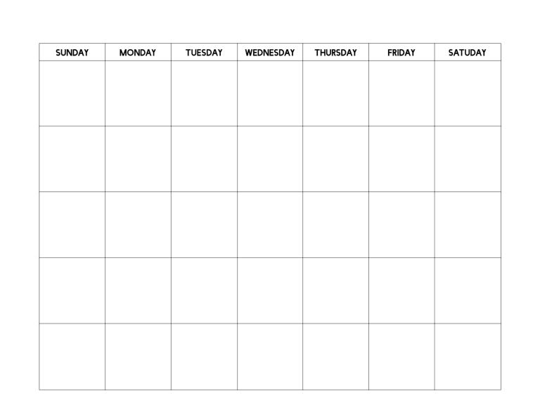 Free Printable Blank Calendar Template Paper Trail Design Printable Blank Calendar Blank Calendar Calender Template