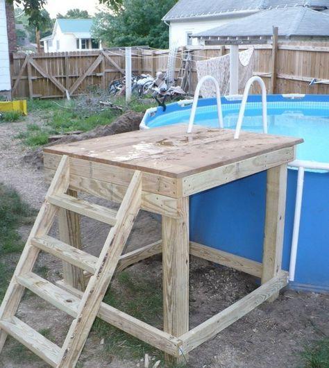 intex pool steps google search summertime pinterest. Black Bedroom Furniture Sets. Home Design Ideas