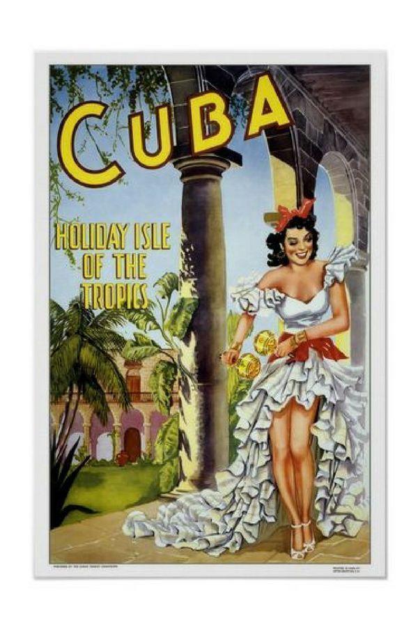 Vintage travel,Cuba Poster | Zazzle.com #visitcuba