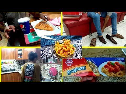 Pakistani Mom Kitchen Routine Spaghetti Recipe Pakistani Vlogger Mishi Youtube Spaghetti