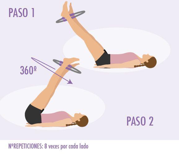 Ejercicio de pilates con aro  206c82c8353a