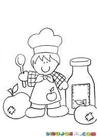 Resultado de imagen para cocinero para colorear navidad ...