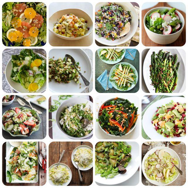 16 Inspiring Spring Salads Spring Salad Spring Salad Recipes Fresh Fruit Recipes