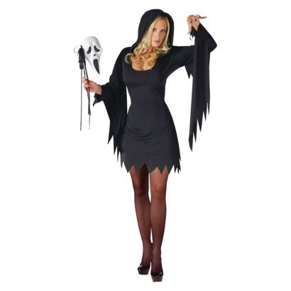 Women's Ghost Face Costume