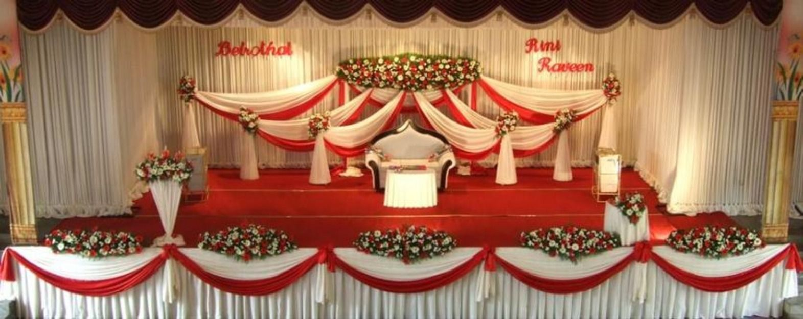 Stage decoration kerala wedding stage decoration 6 for American wedding stage decoration