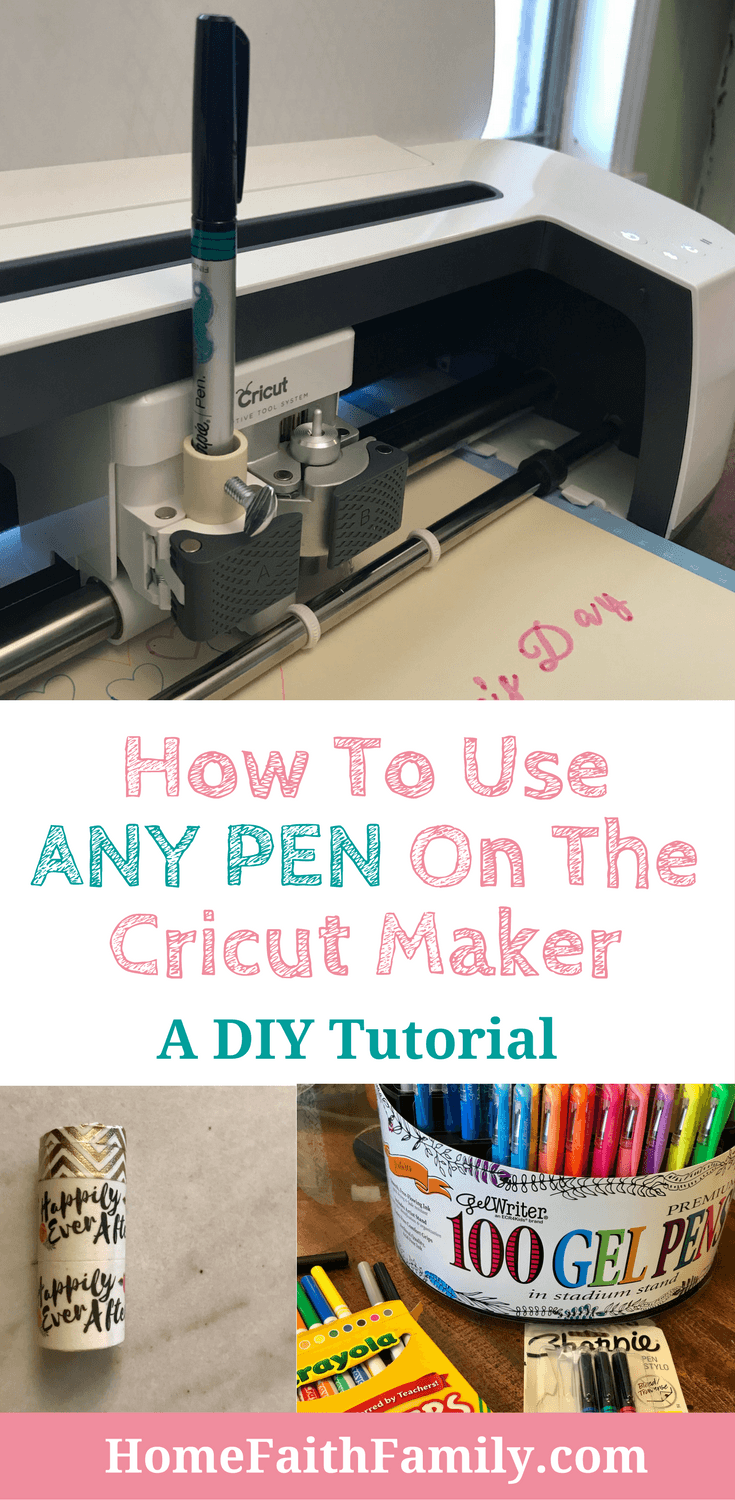 How To Make A Cricut Pen Adapter The Easy Way Cricut
