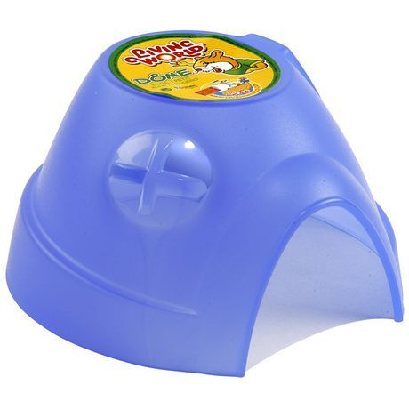 Living World Dome Blue Small Small pets, Pet supplies