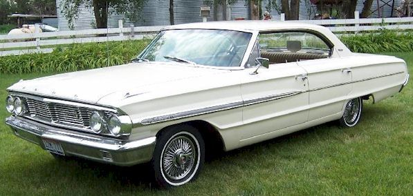 1964 Ford Galaxie 500 4 Door Hardtop My First Car Minus The