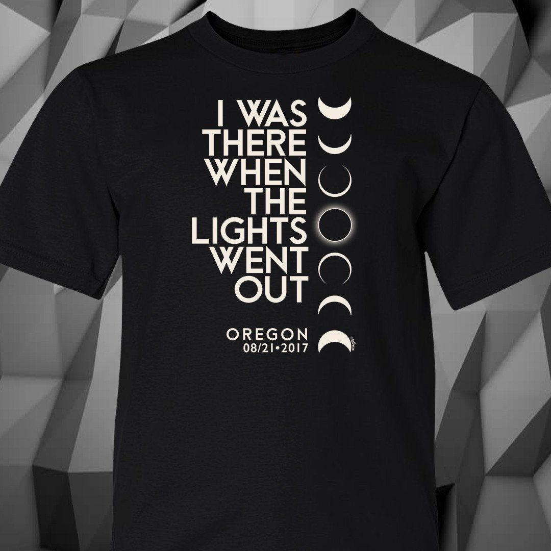 I Was There When The Lights Went Out In Oregon™ Kid's T-Shirt