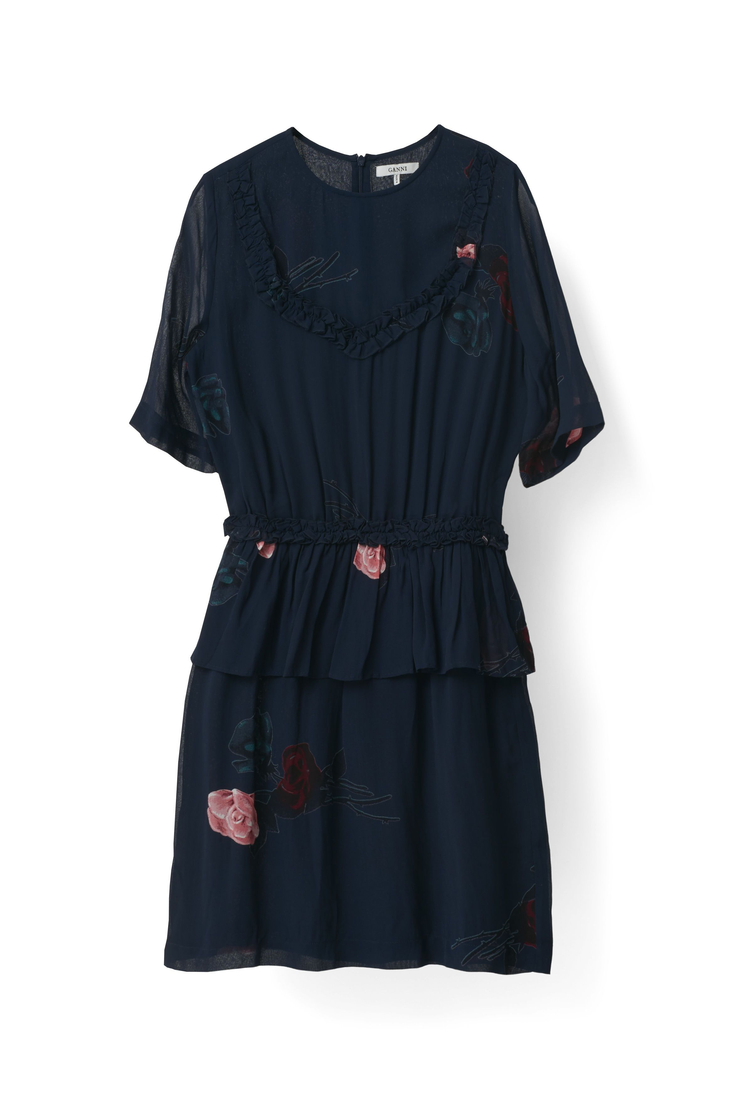 bc2f65a762a5 Dean Georgette Dress - Ganni