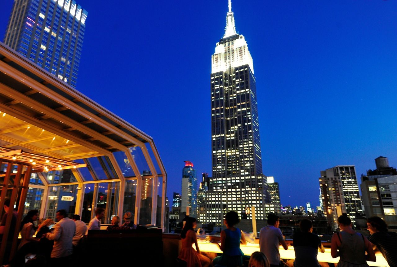 New York City Hotels | Best Rooftop Bars | New york ...