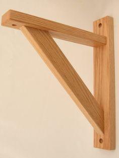 Diy Wood Shelf Brackets