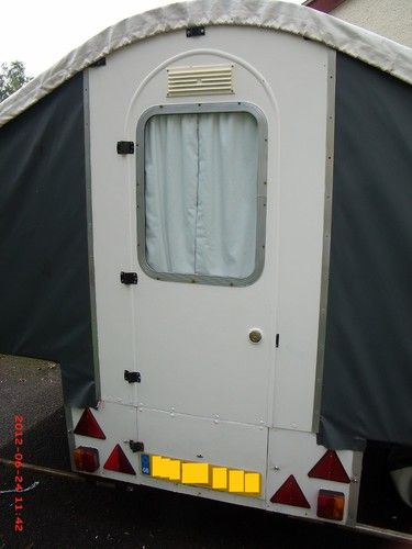 Details about Dandy 4-berth folding camper / trailer tent