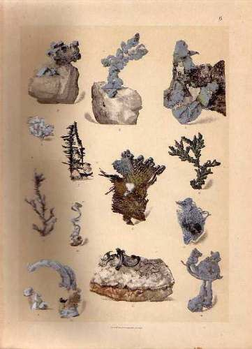 Il Regno Minerale Reinhard Brauns 1903 750 00 Ilustraciones De Naturaleza Cristales Minerales Piedras Y Cristales