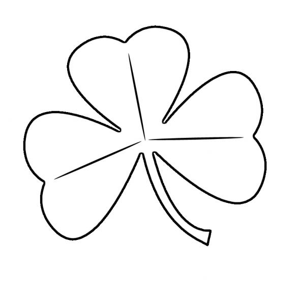 Stencil 3 Leaf Clover Google Search St Patricks Day Clipart St Patrick S Day Crafts Shamrock Art