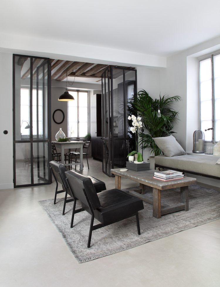 zweifl gelige innent ren sorgen f r offenheit wohnen pinterest k che wohnzimmer und. Black Bedroom Furniture Sets. Home Design Ideas