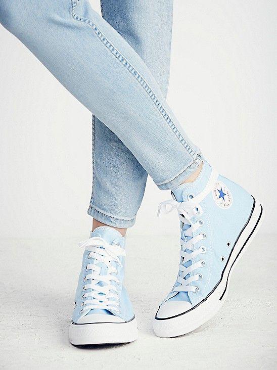 cute high top converse