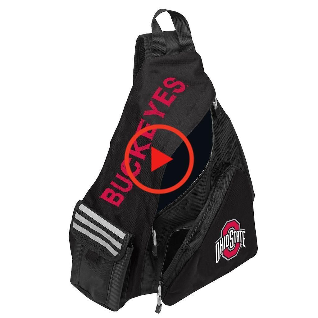 Ohio State Buckeyes Lead Off Sling Backpack by Northwest, Team