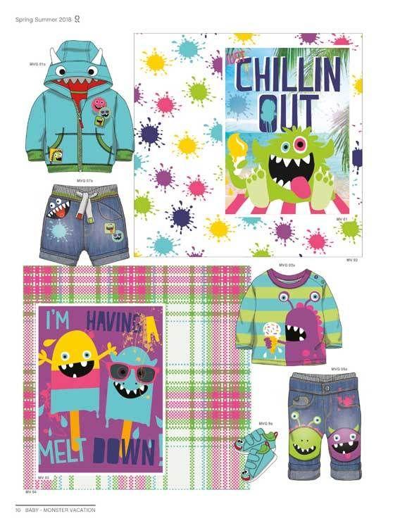 Style Right Babywear Trendbook - Childrenswear S/S 2018 ...