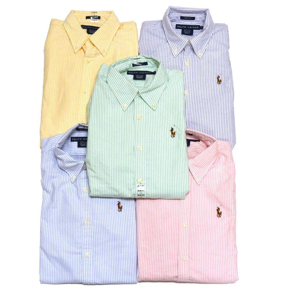 Polo Ralph Lauren Oxford Shirt Classic Fit Womens Button Down Dress Blue  Label #RalphLauren #ButtonDownShirt #Career