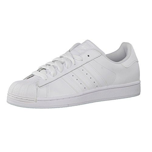 adidas Originals Superstar, Sneakers Basses Femme - Rouge - Rot (Tomato F15-ST/Tomato F15-ST/FTWR White), 38 2/3