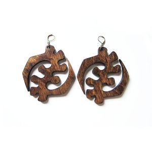 Image of Gye Nyame Earrings