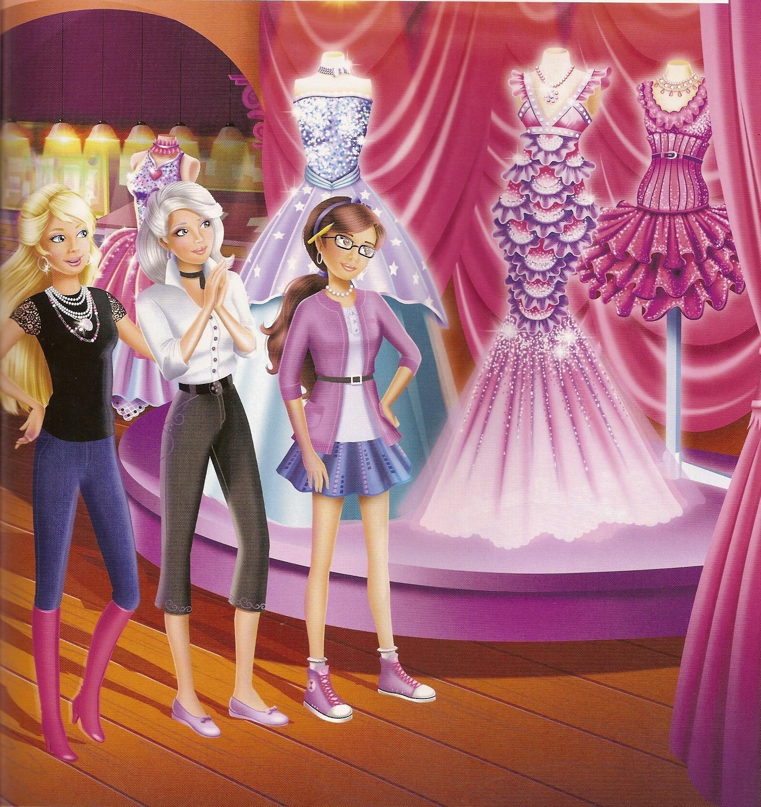 Barbie A Fashion Fairytale Dresses Sketches Barbie A Fashion Fairy...