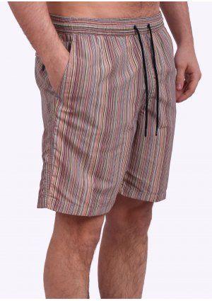 ffa9950da1 Paul Smith Jeans Signature Stripe Swim Shorts - Multi Coloured ...