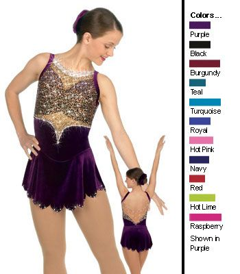 twirling dance ice skating dress sharene skatewear competition figure skating outfit style 8161