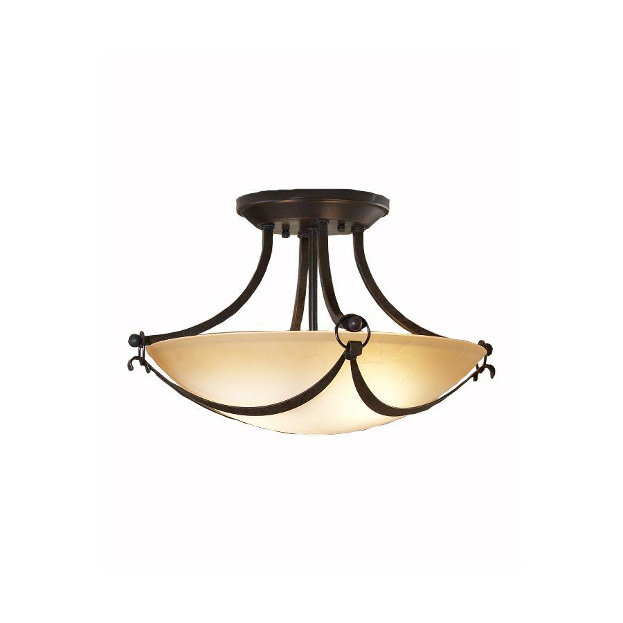 Murray Feiss El Nido: Shop Allen + Roth Winnsboro 15.5-in W Oil-Rubbed Bronze