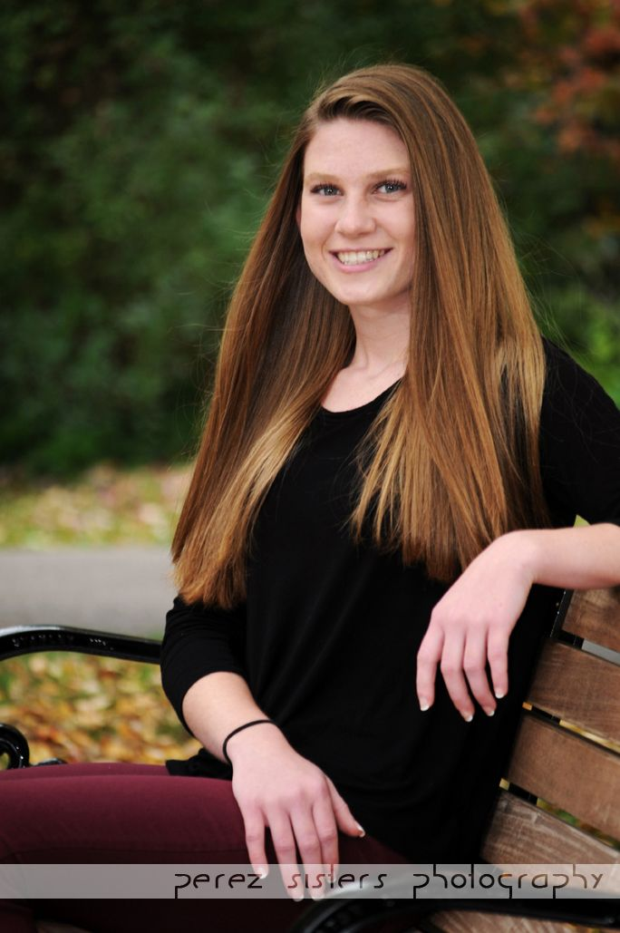Located In Rochester Ny Senior Portrait Girl Outdoors Park
