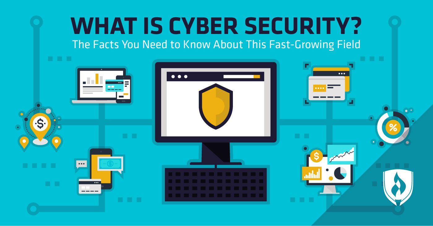 What Is Cyber Security The Facts You Need To Know About This Fast Growing Field What Is Cyber Security Cyber Security Career Cyber Security Certifications