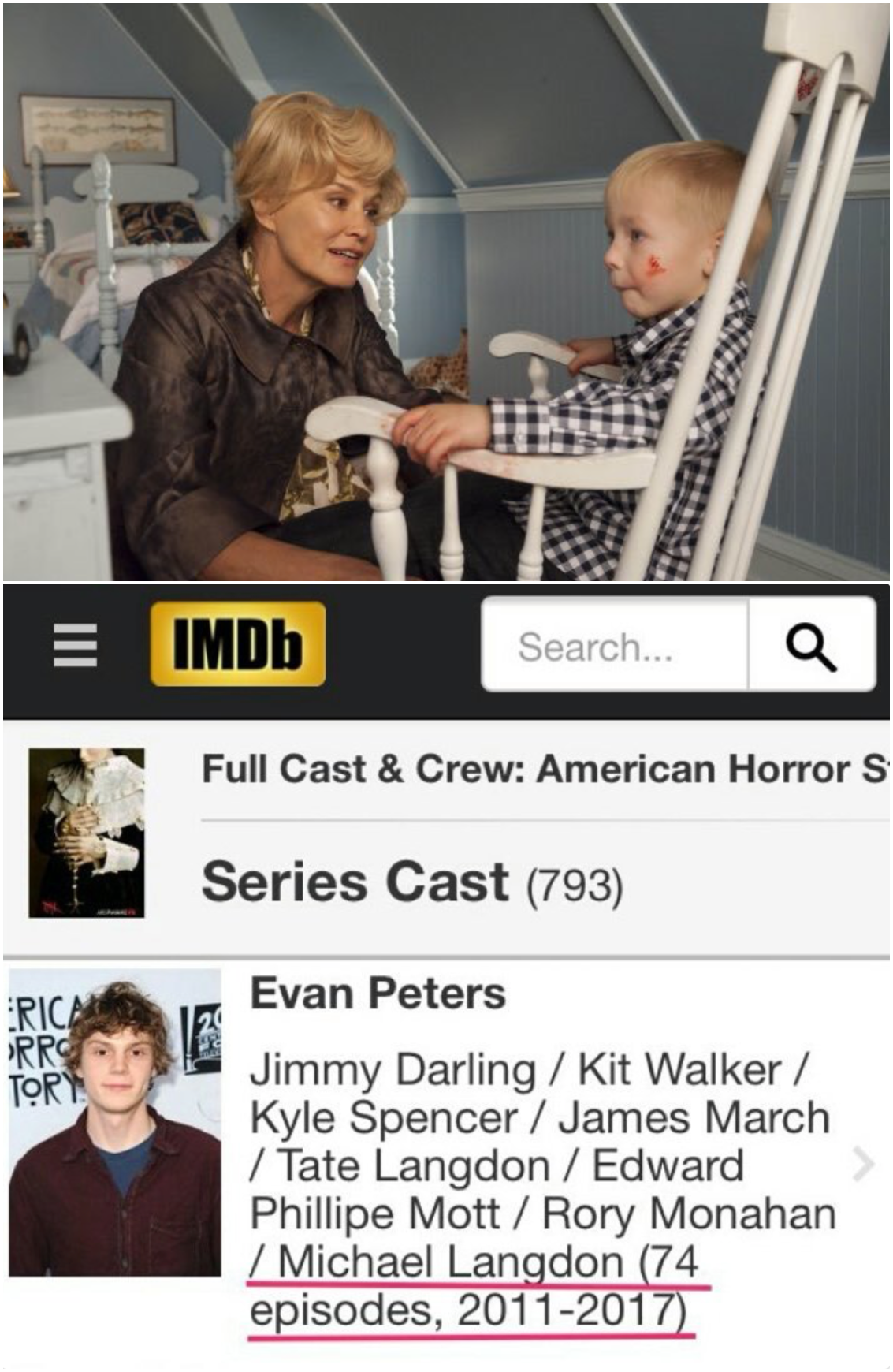 HOT RUMOR: IMDB inadvertently revealed Evan Peters will be playing ...