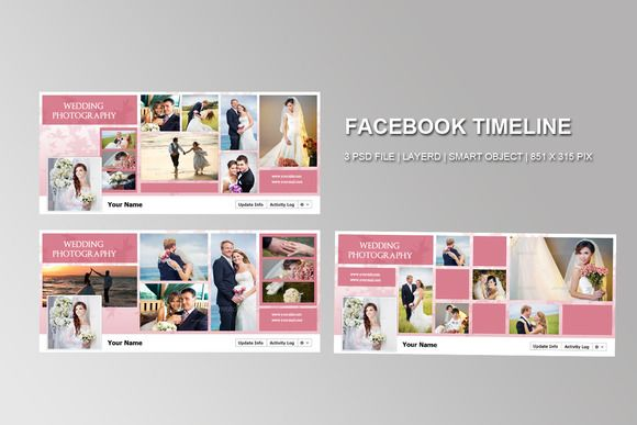 Advertising Timeline Template Elegant Business Facebook Cover