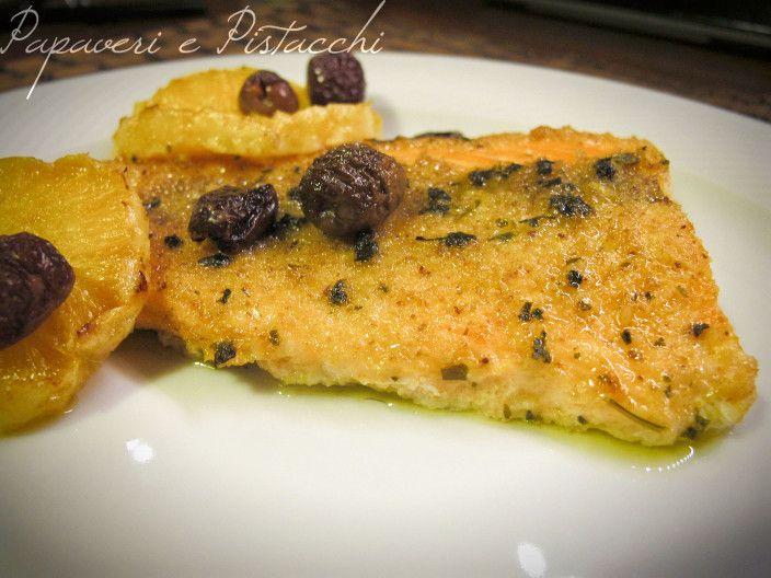 Photo of Filetti di Salmone con Olive ed Arancia – Papaveri e Pistacc…