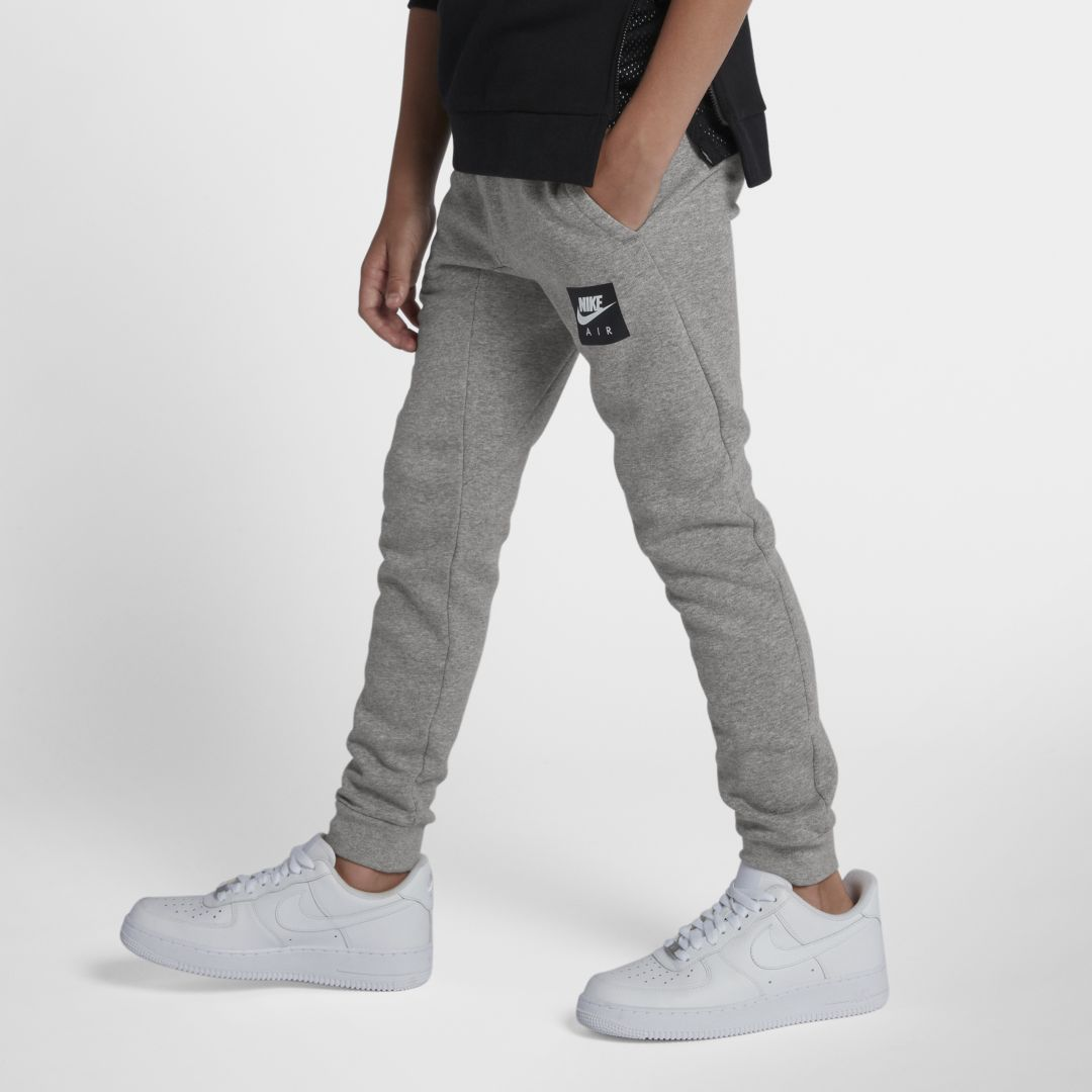best sneakers 48791 d566d Nike Air Big Kids  (Boys ) Pants Size S (Dark Grey Heather)
