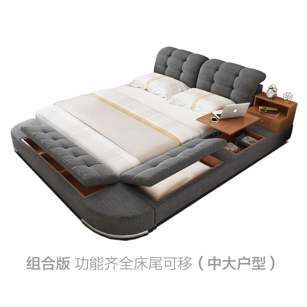 Bed Cloth Bed Fabric Bed 1 8 M Double Bed Tatami Bed Low Bed