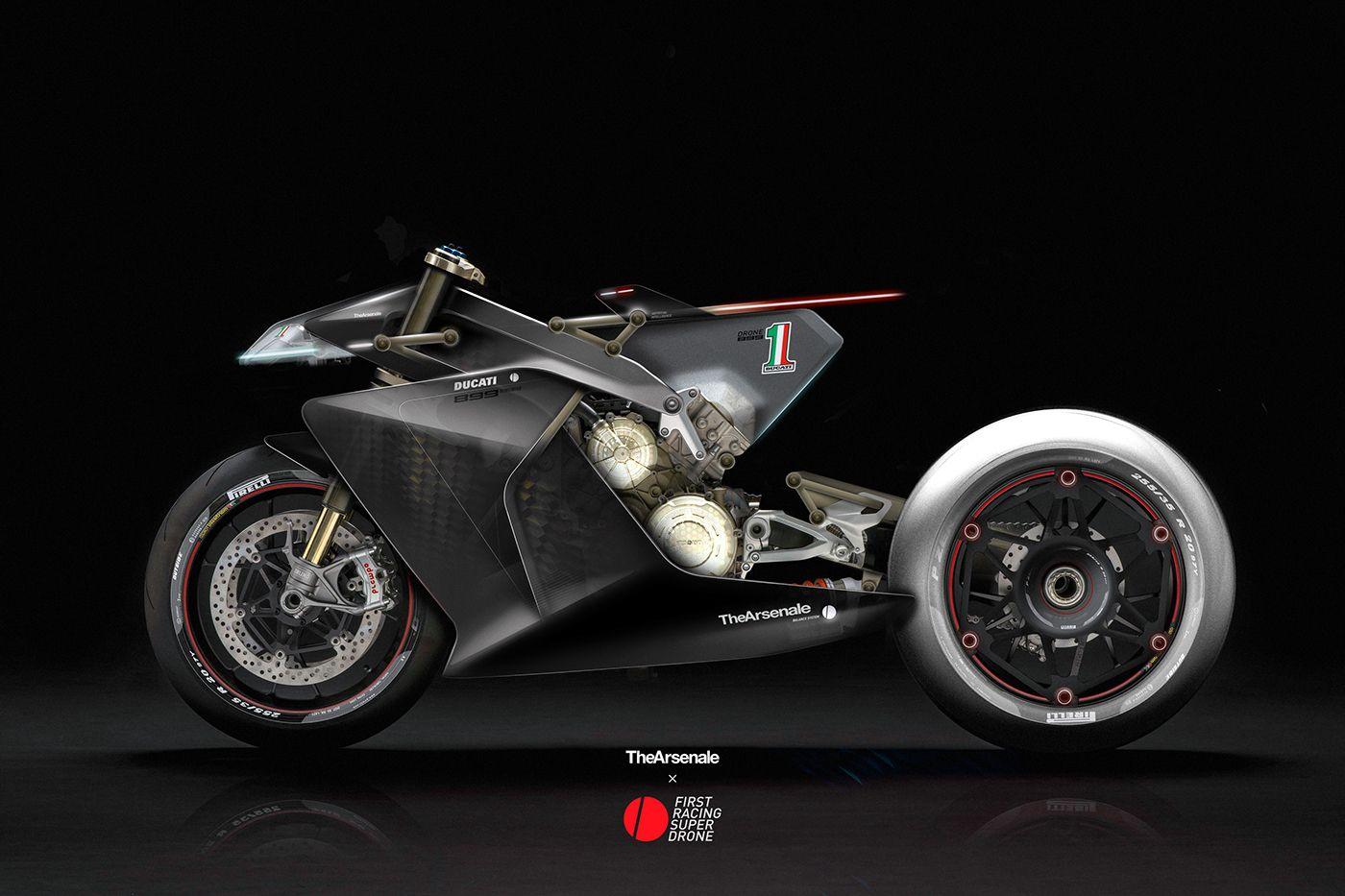 Ducati Bike Challenge On Behance Ducati Voiture