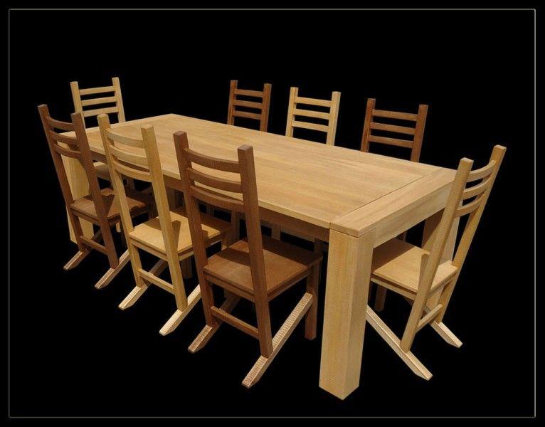 Mesa En Madera De Lenga Lenga Wood Table Muebles Don