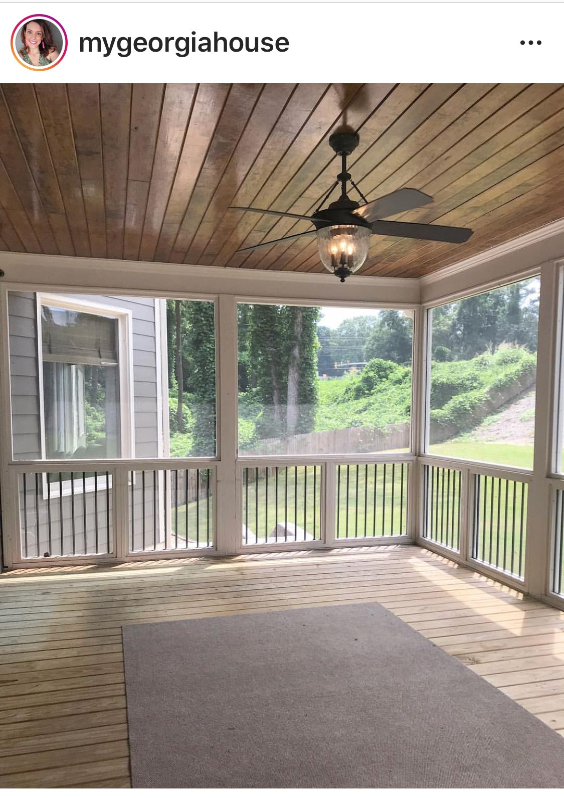 Beautiful Screened In Porch Back Porch Designs Porch Design House With Porch