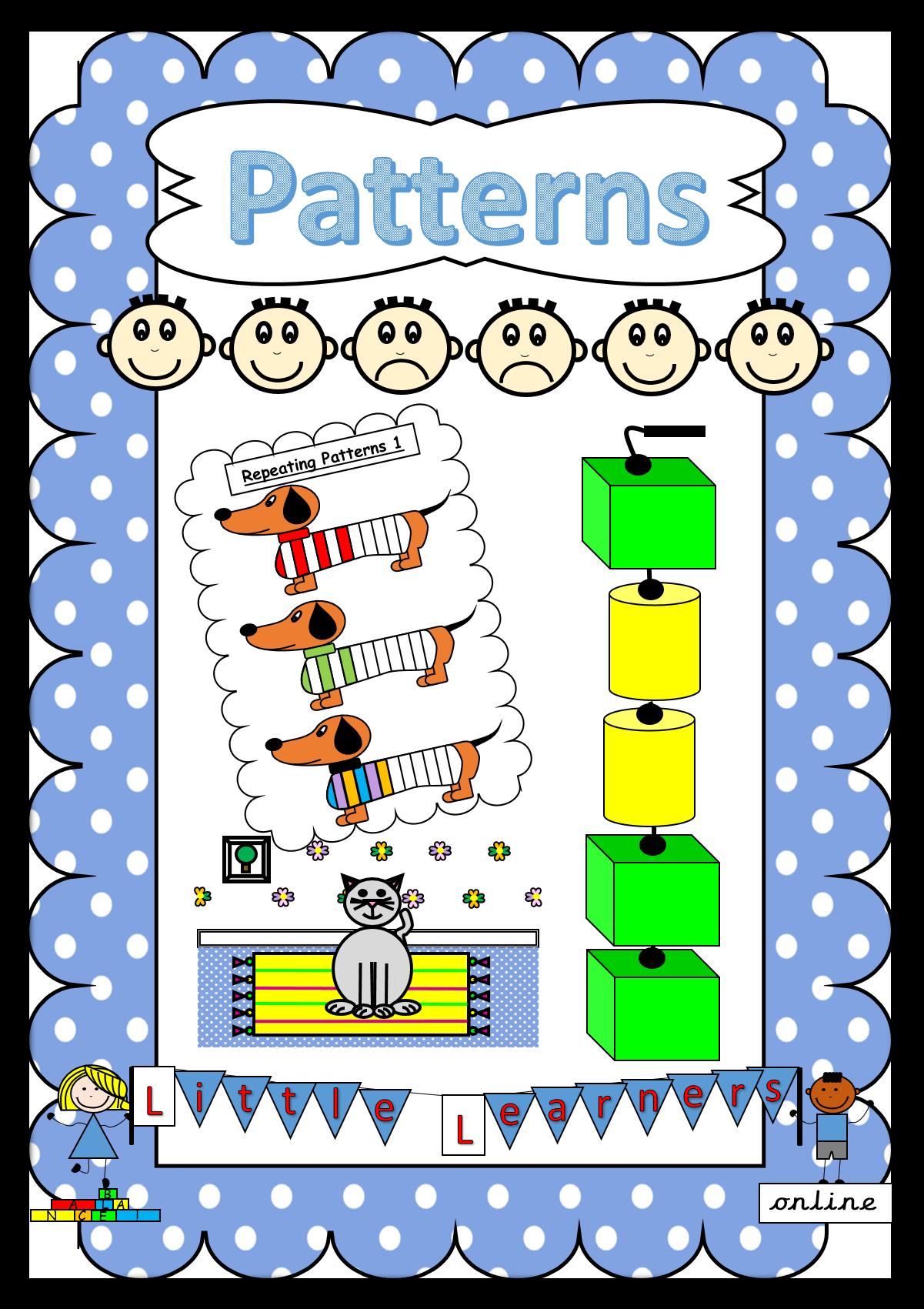 Eyfs Pattern Pack In